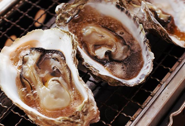 北海道サロマ湖直送 焼き牡蠣