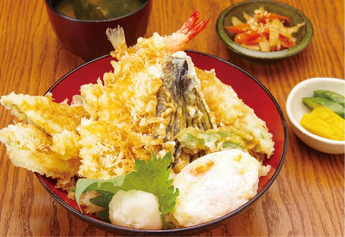 おまかせ地魚天丼