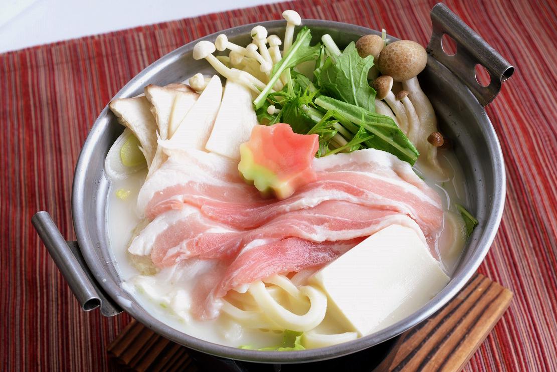 豚肉ときのこのコク旨豆乳鍋(1人前)