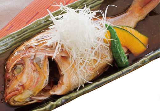 花鯛煮付け定食