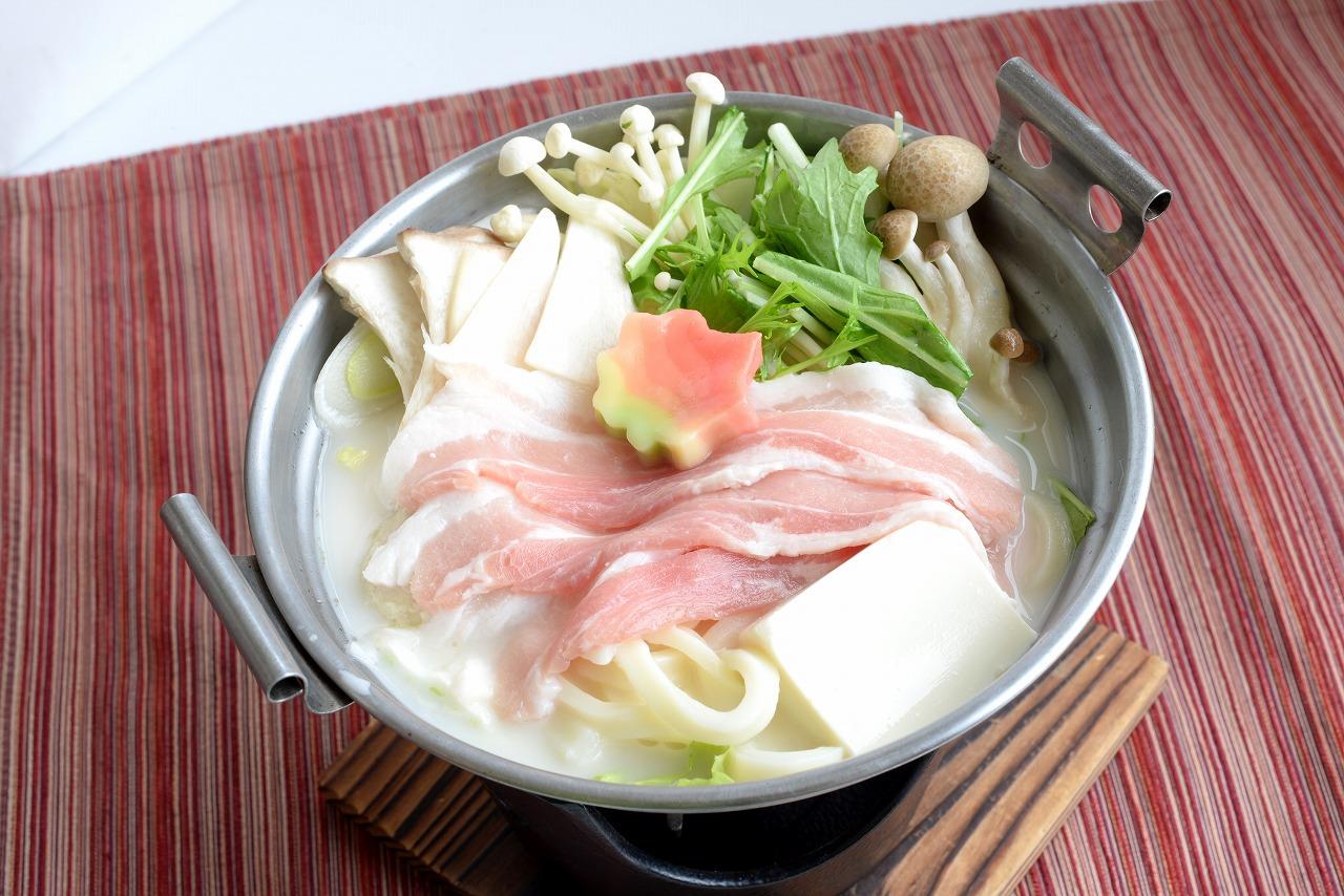 [~2/28迄] 豚肉ときのこのコク旨豆乳鍋